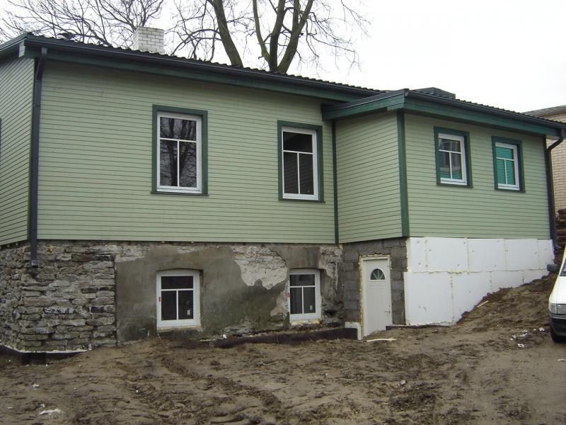 Maja fassaad