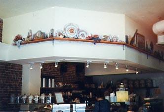 realistlik kohviku seinamaaling