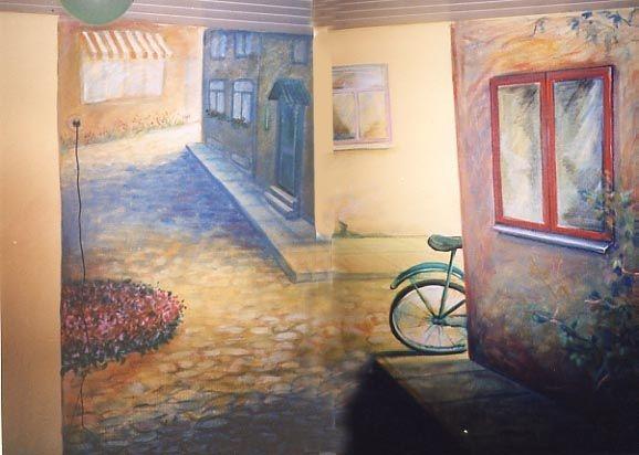 seinamaaling lastetuppa