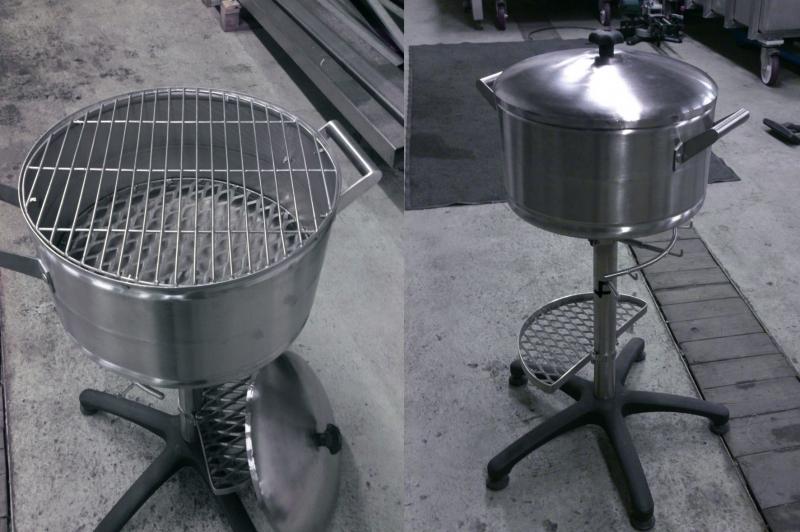 Roostevaba disain- Grill