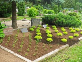 hauaplatside kujundamine ja püsihooldus