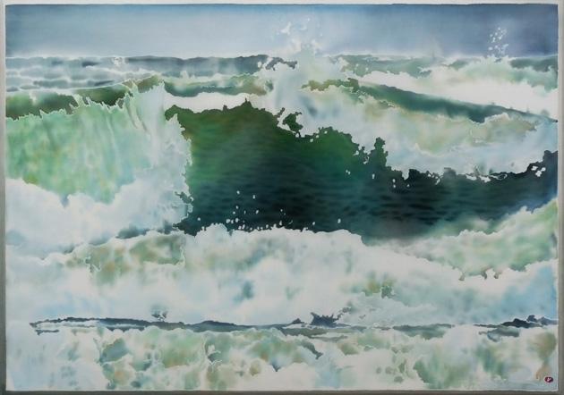 Akvarell linasel