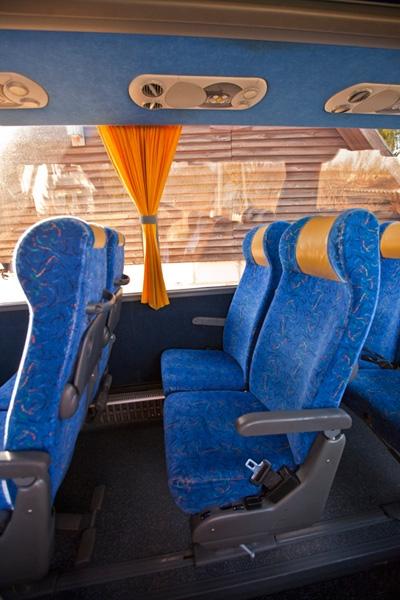 Bussireisid - 50 Reisijakohta