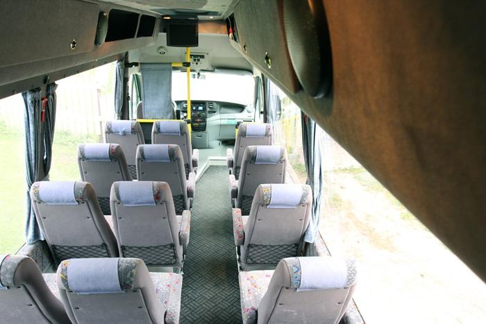 Busside tellimine - 19 Reisijakohta