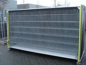 2 x 3,5m terasest tsingitud aiatahvel