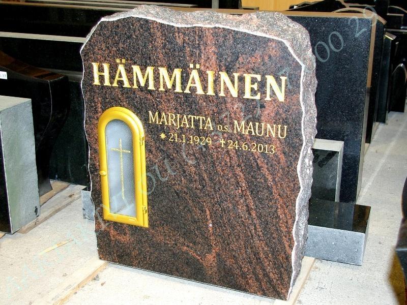 hauakivi 042-15 60x70x15cm poleeritud klombitud saetud pronksist latern 14x32cm klaasil pilt-149 kiri-121 ja kiri-127 lehtkuld c