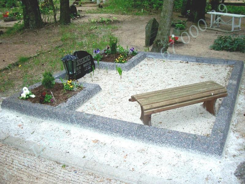 hauapiire pesubetoonist lego 2 hauakohta - hall kild, hall tsement laius-250cm, pikkus-250cm, serva laius-13cm, lillenurgad 75x75cm, muld, liiv b