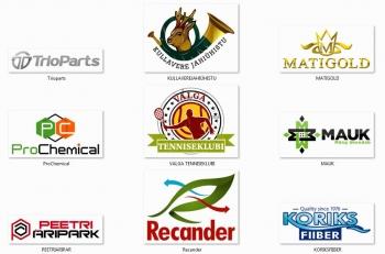 kujundatud logod