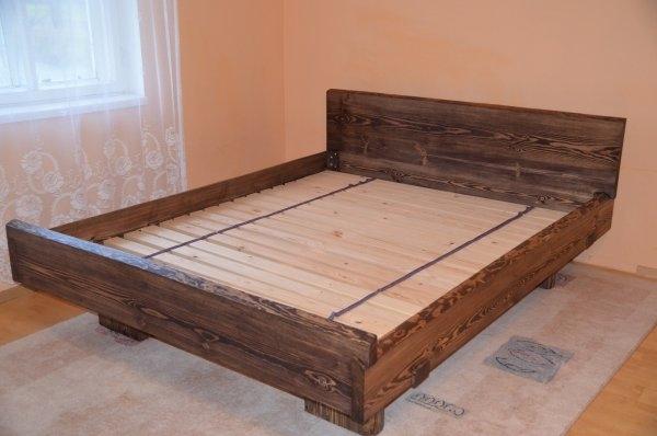 massiivne paks voodi mänd 1
