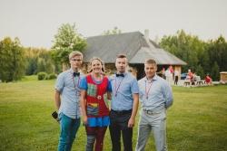 Meie meeskond (fotograaf, lapsehoidja, Pulmaisa ning DJ)