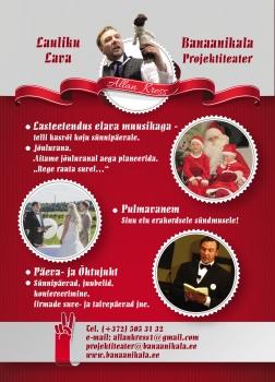 õhtujuht pulmavanem jõuluvana lasteetendus_allan kress