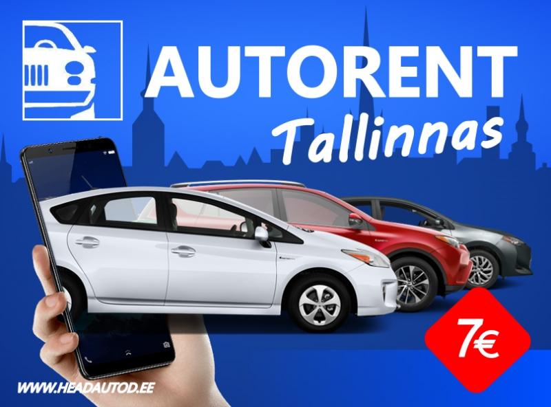 HeadAutod RENT Tallinnas !