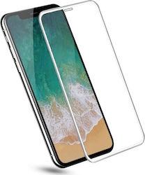 kaitseklaas iphone xs - valge - phonefashion.ee