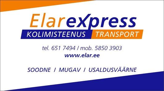 visiitkaart elarexpress