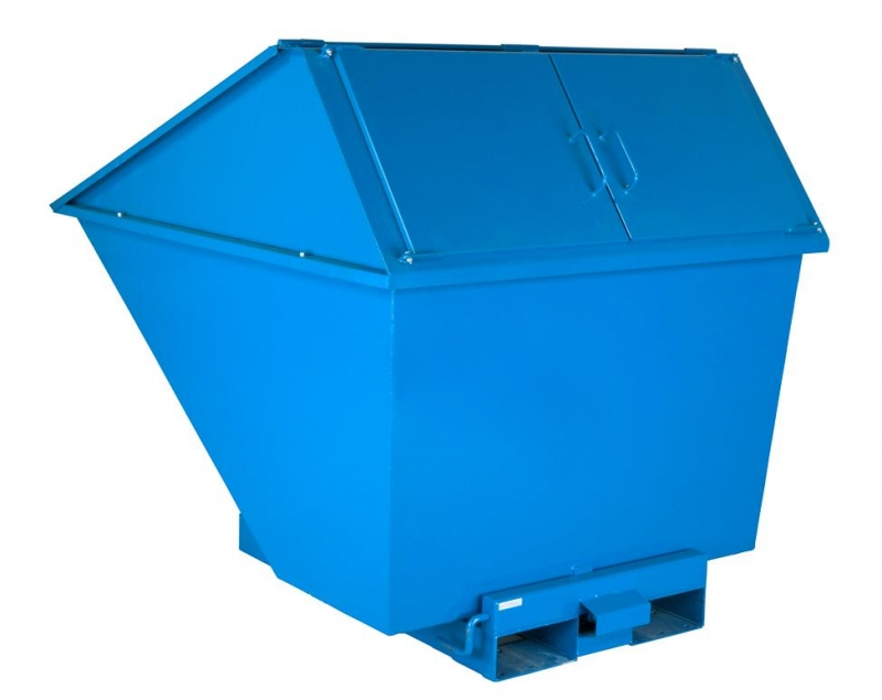 tippo konteiner kõrge kaanega